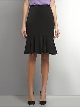 Flared Hem Skirt