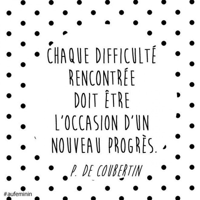 Citation Pierre de Coubertin