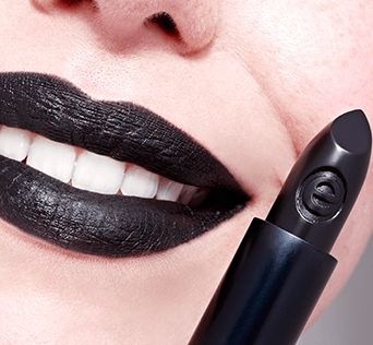 longlasting lipstick 19 black gossip - essence cosmetics