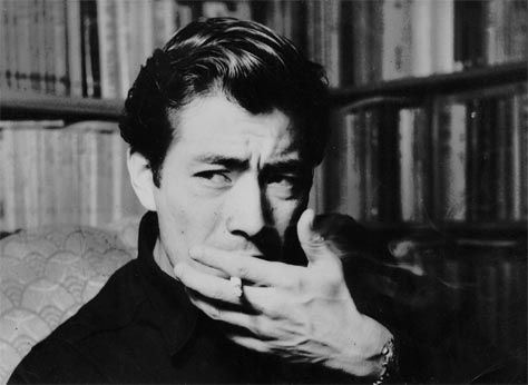 Toshiro Mifune. Handsome fella. Also jolly good in countless Kurosawa pics. What's my fave? Yojimbo? Although Drunken Angel, his first with Kurosawa is rather good. Google Image Result for http://staffblog.havenshop.ca/wp-content/uploads/2010/09/600full-toshiro-mifune2.jpg