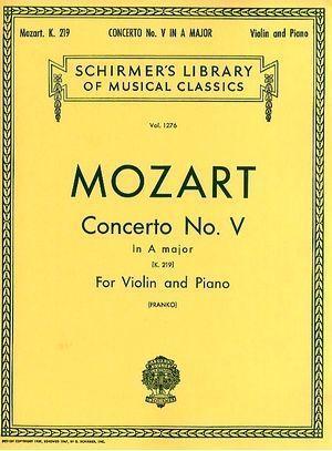 MOZART Concerto n°5 La majeur K219