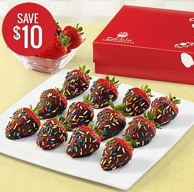 Save 10 when you pick up a confetti berries dipped fruit