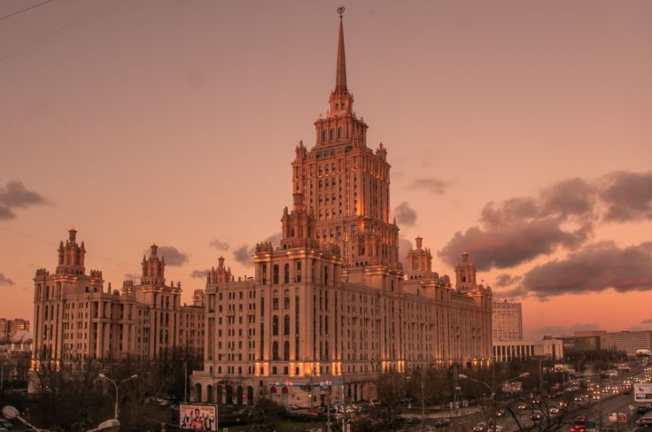 Москва: Сталинские высотки by Graziella Serra Art & Photo on 500px