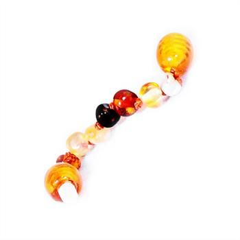 What a great idea! Just screw this 5cm extension piece into any existing amber necklace,bracelet or anklet.