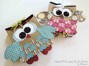 """An owl candy bar wrap.  All those hearts as feather are so cute.  An """"Owl Always Love You Tag"""" would be sweet..."""
