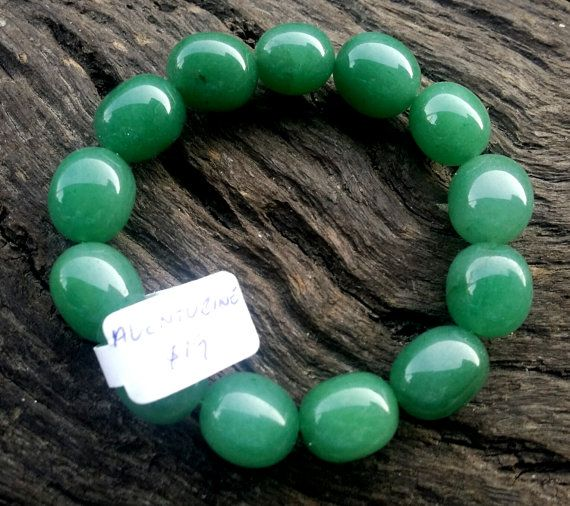 Green Aventurine Tumbled Stone Crystal Gemstone by crystalzngems