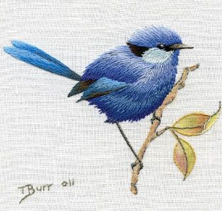 Trish Burr's Birds