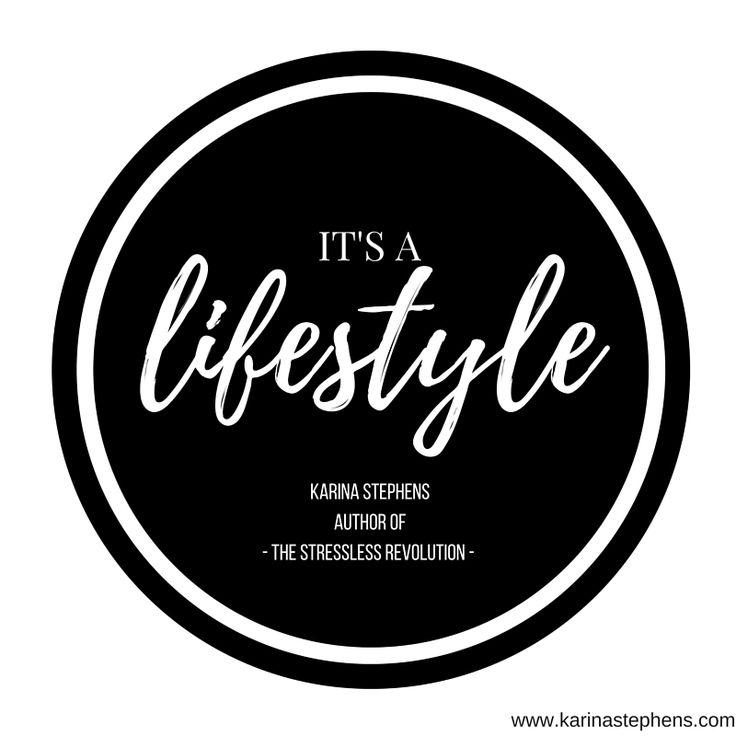 It's a lifestyle.....  join @ karinastephens.com