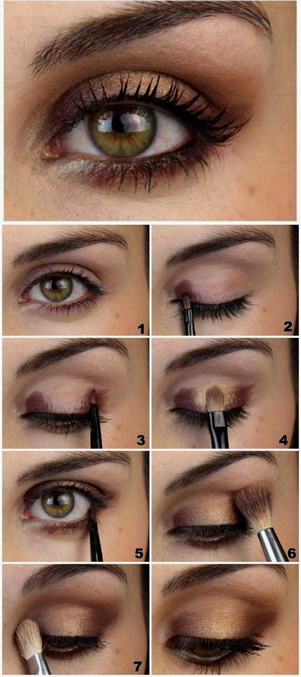 pin by ashley resinger on hair in 2020   smokey eye makeup