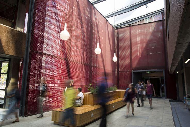 Auckland University Atrium, New Zealand. See Full Case Study