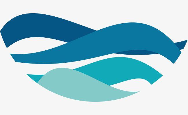 Cartoon Lake Water Logo Water Logo River Logo Branding Design Logo