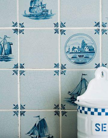 40 Best Images About Delft Tile Kitchens On Pinterest