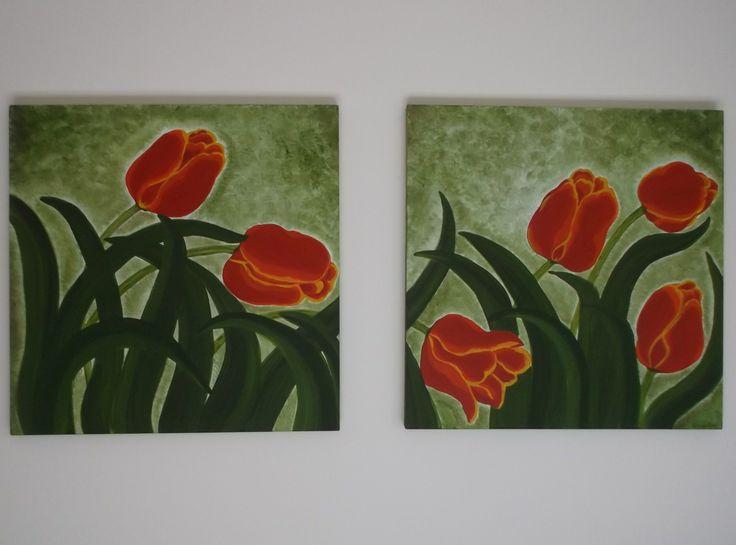Tulipani rossi - Red tulips