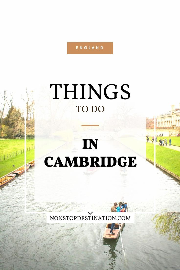 1 Day Guide to Visiting Cambridge - Non Stop Destination