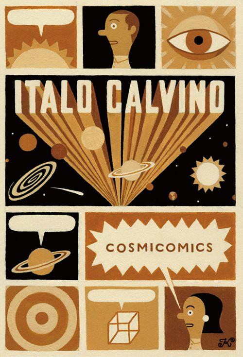 JAMES KACZMAN - Cosmicomics, Italo Calvino (cover)