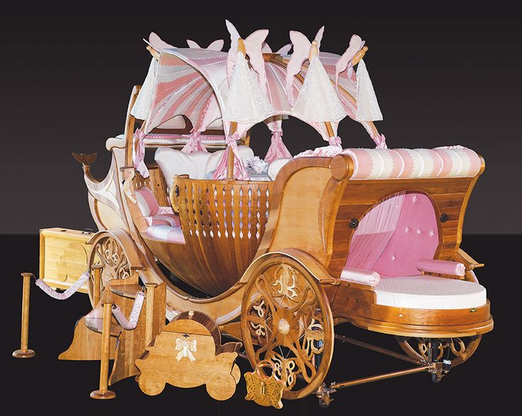"""Madame Butterfly Carriage"" is a magical piece of artistic harmony blended with the latest technological enhancements. Read more in Upscale Living Magazine's ""Best of Luxury"" coming to you Jan/Feb 2014. Contact the owner (Teobaldo Fabregas) at tsonensi@gmail.com"