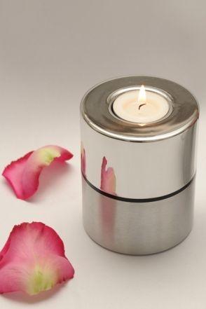 Waxinelicht, duo-urn