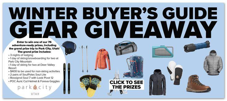 Outside Magazine 2017 Winter Buyer's Guide Sweepstakes (85 Winners) – Ends Jan 23rd #sweepstakes https://www.goldengoosegiveaways.com/outside-magazine-winter-buyers-guide-sweepstakes-85-winners-ends-jan-23rd?utm_content=buffer31e99&utm_medium=social&utm_source=pinterest.com&utm_campaign=buffer
