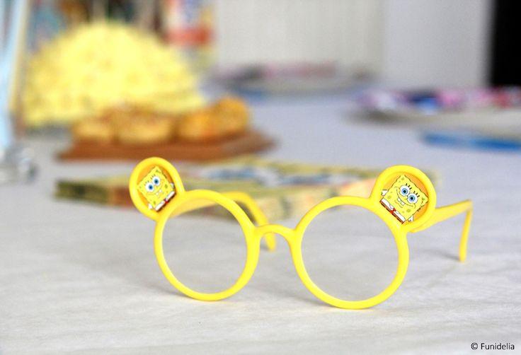 Vous n'y voyez pas clair? Demandez à #bobleponge #spongebob #spongebobsquarepants #glasses #party #anniversaire