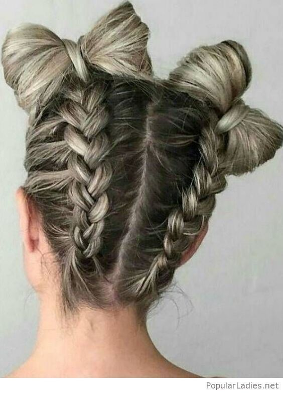 Trending braids and hairstyles from Pinterest,  #Braids #gevlochtenkapselskind #hairstyles #Pinterest #Trending