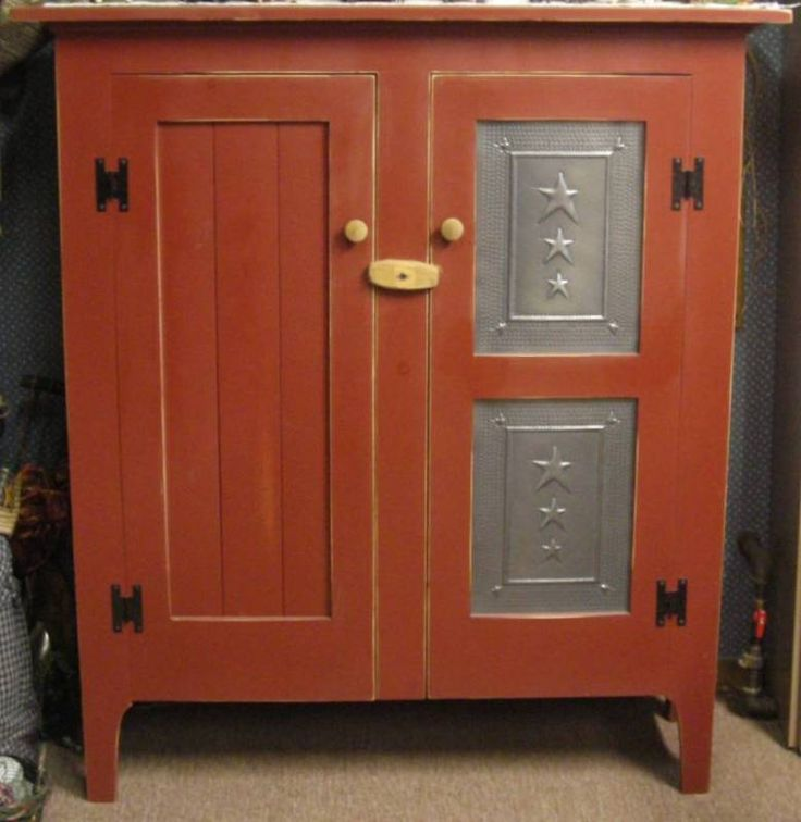 cupboards dickhaines cabinet pinterest cupboard best images on red jelly primitive