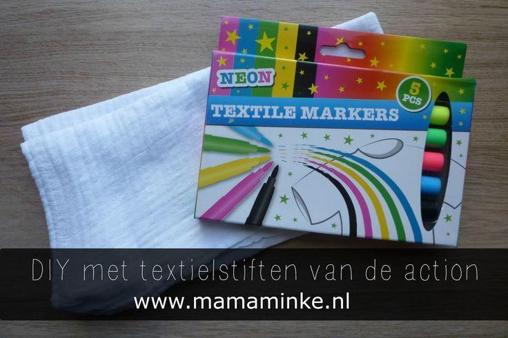 Mama Minke: DIY: textielstiften