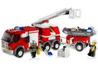 City Police Rescue - Fire Rescue Truck [Lego 7239]