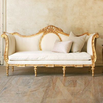 Louis XVI Vintage Daybed @LaylaGrayce