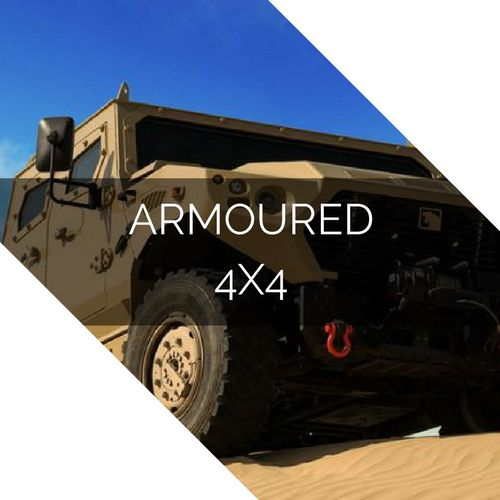 Unparalleled defense, agility and mobility. The best armoured 4x4. http://imgur.com/a/qR1uU