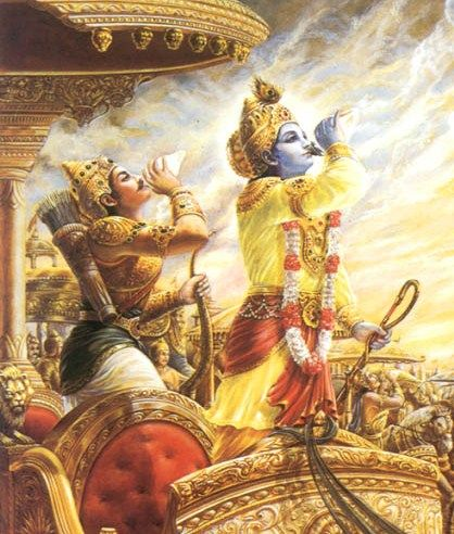 Therefore the doubts which have arisen in your heart out of ignorance should be slashed with the weapon of knowledge. Armed with yoga, O Arjuna, stand and fight. B.G. 2.42
