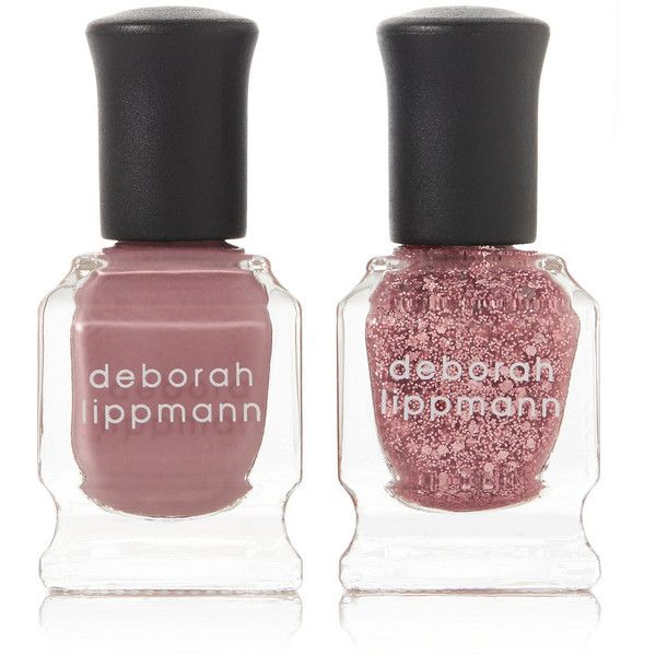 Deborah Lippmann Nail Polish - Roses In The Snow Mini Duet Set (2380 DZD) ❤ liked on Polyvore featuring beauty products, nail care, nail polish, makeup, beauty, nails, cosmetics, filler, pink and matte nail color
