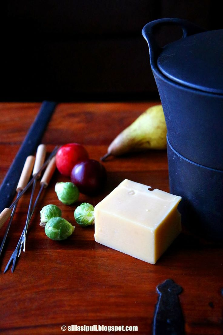 Fondue for everyday. Why not enjoy this melted cheese deliciousness during the week!