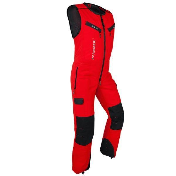 Pfanner Schnittschutz Overall Klasse 1 - GenXtreme  #rot #overall #EN381-5Kl.1 #Schnittschutz #wasserdicht #Pfanner #GenXtreme #Workwear #Outdoor