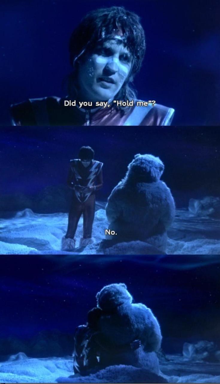 Vince and the polar bear