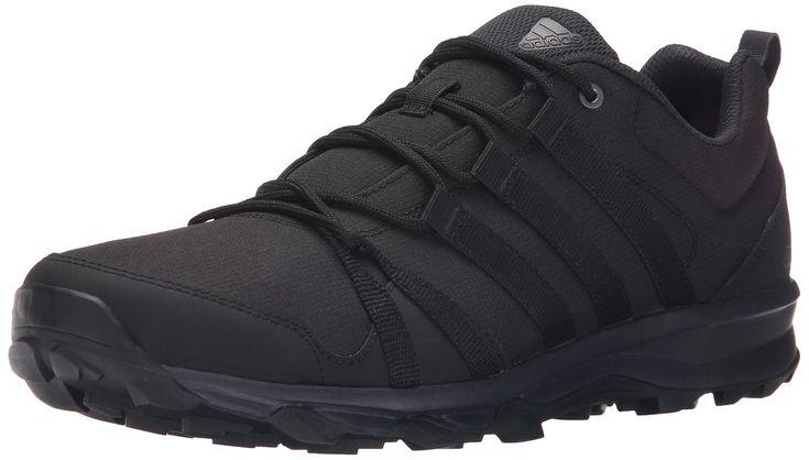 adidas Outdoor Men's Tracerocker Trail Running Shoe, black/Dark Grey/black, 12 M US