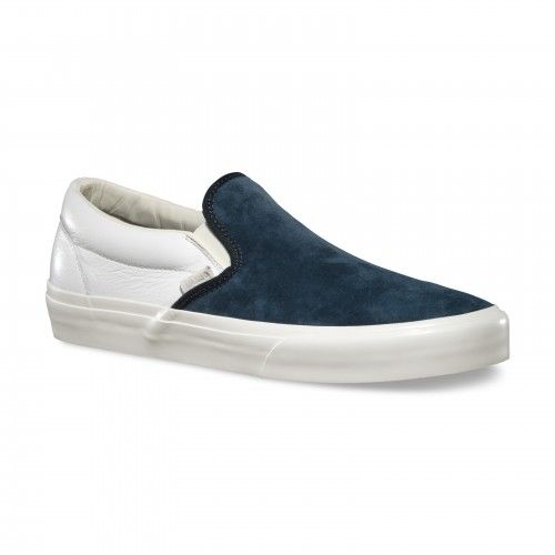 Vans Chaussures Classic Slip-On CA Scotchgard (Scotchgard) Blue Graphite