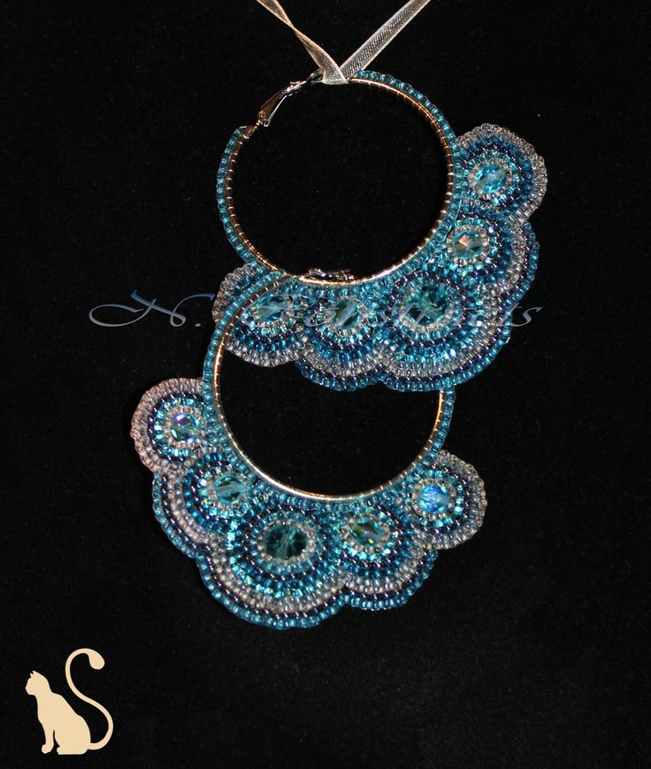 "7.1 Earrings ""Indian Princess"""