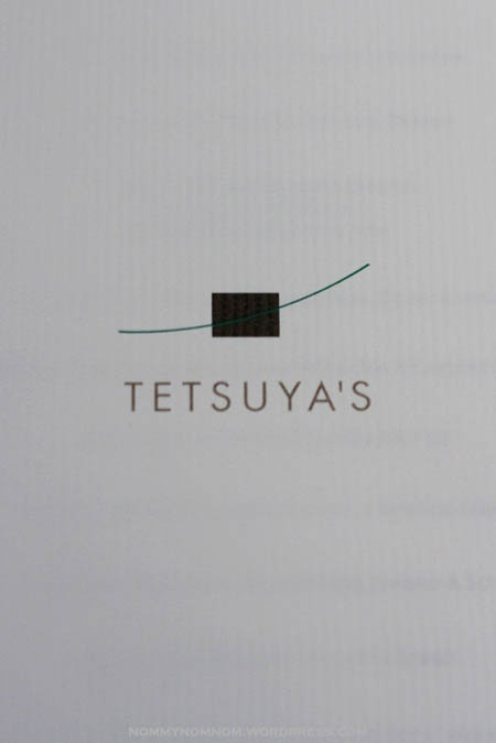 Tetsuyas restaurant - AUSTRALIA