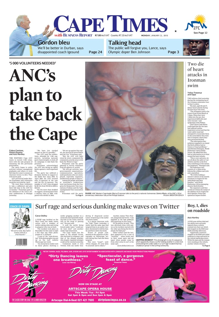 The ANC plan to take back the Cape