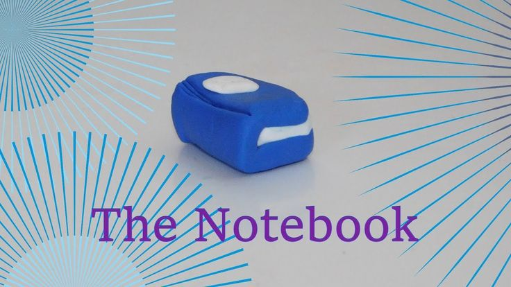 How to make a Notebook with Clay!