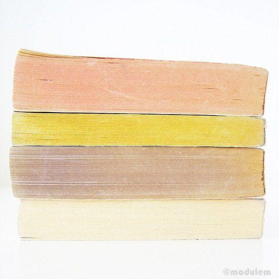 Grey Pink Ivory Yellow  Art print photo of vintage by modulem, $25.00