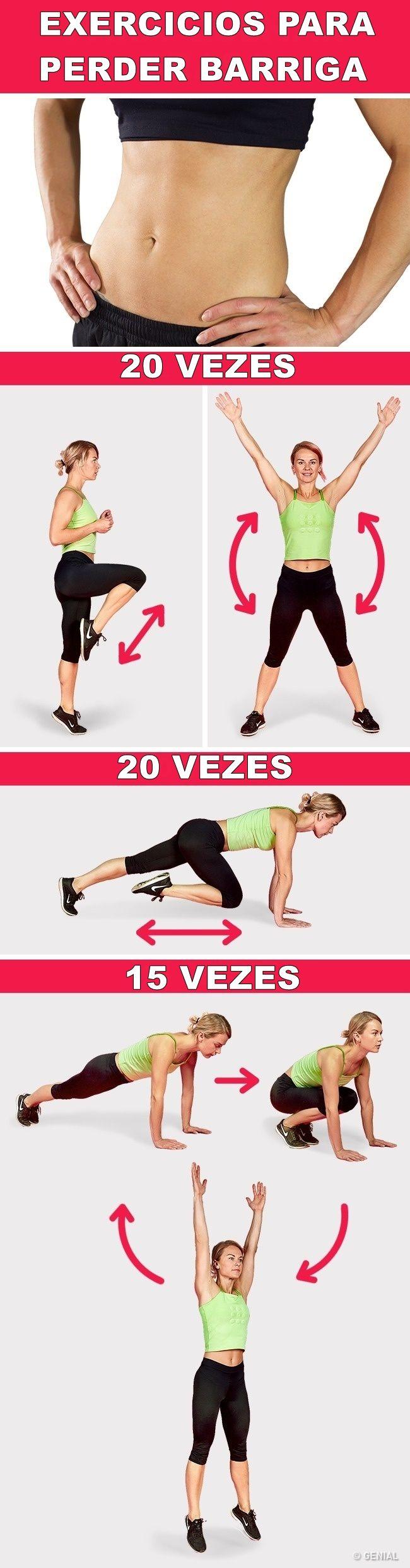 Os 8 Melhores Exercícios Para Perder Peso em 5 Dias  #saude  #emagrecer  #emagrecimento  #exercícios  #perder peso