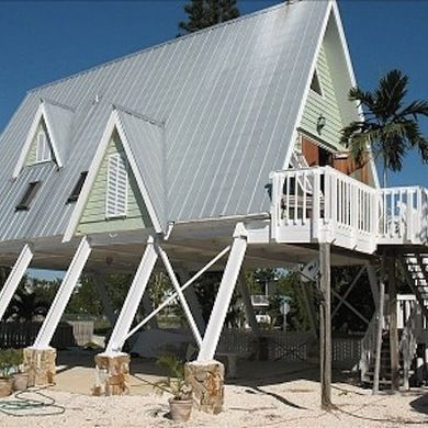 Elevated Beach House - A-Frame House - Bob Vila