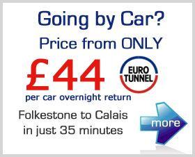 Chunnel - trains, tickets, fares, booking for Channel Tunnel trains