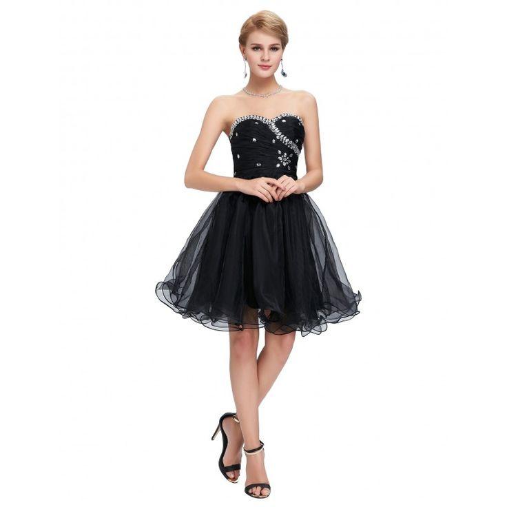 Čierne spoločenské šaty CL4503