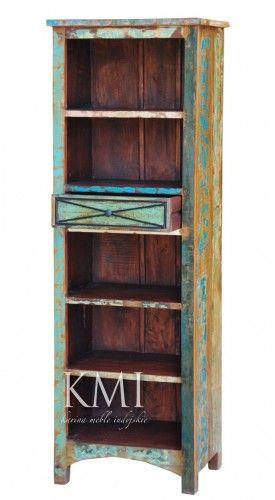meble loftowe | regał na książki M414