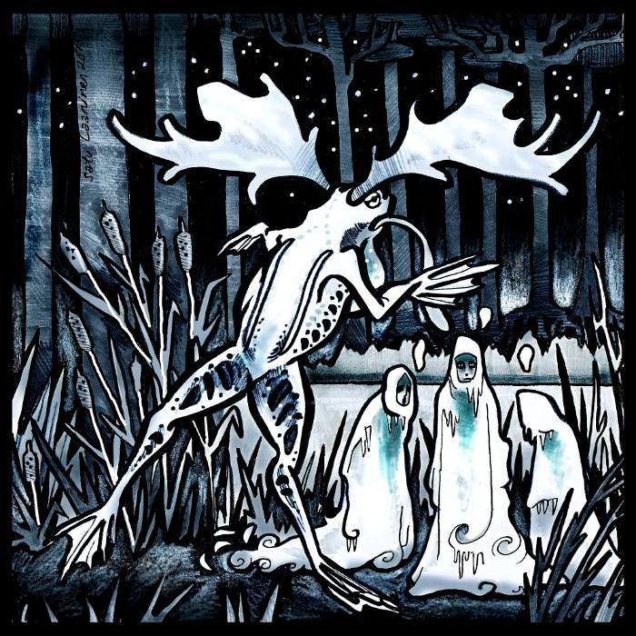 Herkkupurkki: Levyyn kuvitusta, cd album illustration by Satu Laaninen 2015