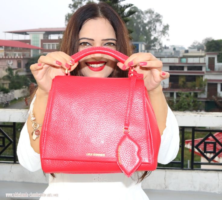 My new Small Rita from @LuluGuinness #luxurutbrand #Luluguinness #fashionblogger