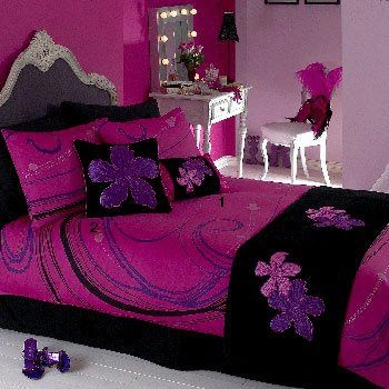A Part Of The Bedroom Of Burlesque Artist Marlene Vaganza. Purple Girls  BedroomsWhite BedroomsBlack ...