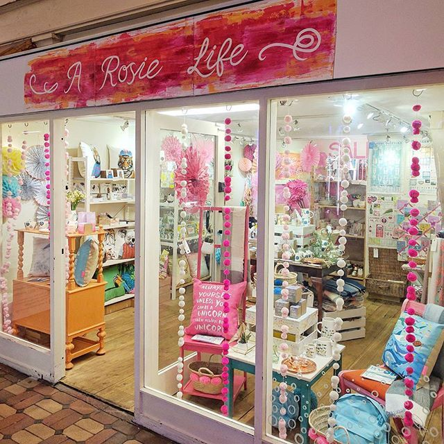 The A Rosie Life Shop, Oxford.